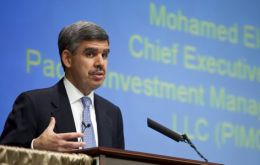 Mohamed El-Erian, CEO of Pimco, with investments worth 1.3 trillion US dollars