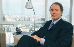 Argentine investor Sebastian Eskenazi would like to boost the family's stake in YPF to 25%