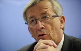 "Jean-Claude Juncker Euro zone Finance ministers' chairman: ""unanimous endorsement"" for the measures."