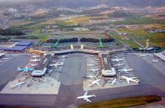 Sao Paulo Guarulhos, one of the most congested airports