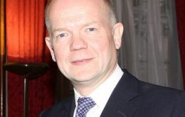 """A focus for promoting democratic values and development"", William Hague"
