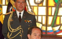 Ecuadorian Defence minister Javier Ponce