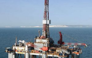 Several companies are currently involved in an exploratory drilling round in Falklands' waters