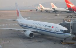 Air China, Singapore Airlines and Cathay Pacific among the leading companies