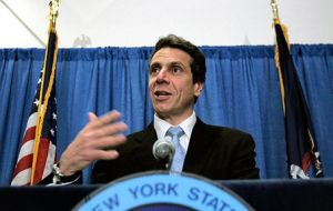 New York Attorney General and governor-elect Andrew Cuomo