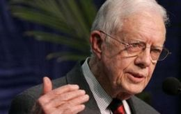 Former US president Jimmy Carter praised the Brazilian initiative