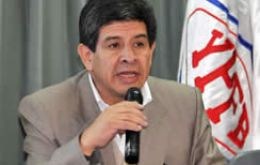State-owned oil company YPFB president Carlos Villegas