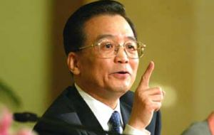 Premier Wen Jiabao: China is most fearful of any social unrest which could be triggered by food prices