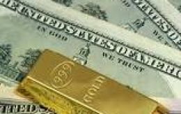 Concerns over the US dollar and world economy have skyrocketed gold