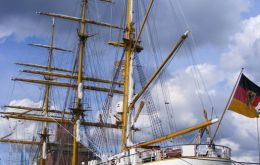 Germany training ship the Gorch Fock
