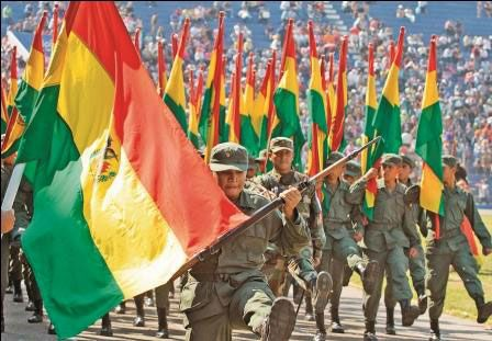 Bolivian Defence Spending Increases — MercoPress