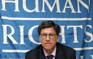 HRW director Jose Manuel Vivanco