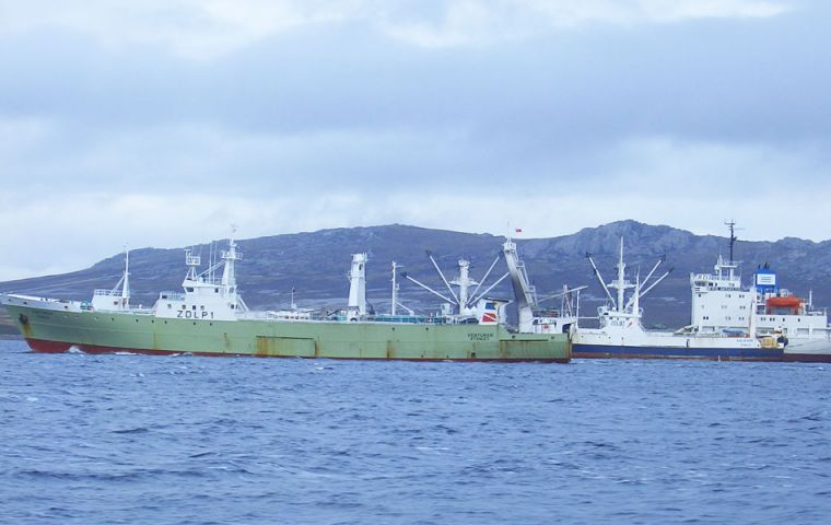 Fisheries research vessel Venturer