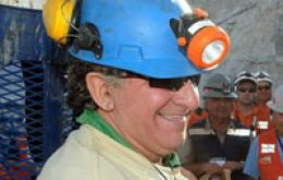 Jose Henriquez was the 24th miner to be brought to the surface
