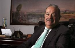 Carlos Slim downplayed the negative impact of Mexico's drug violence on business