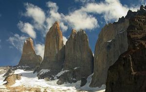 Number of visitors to Torres del Paine dropped by 50% during January