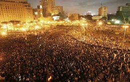 Millions gathered in central Cairo to demand the immediate ousting of the Egyptian president