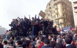 Cairo's Tahrir Square, epicentre of the struggle