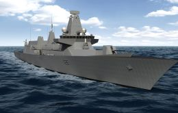 The state of the art Royal Navy Type 26 frigate