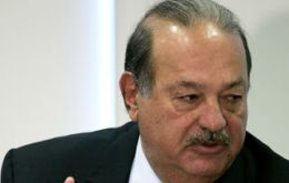 Carlos Slim is betting strongly in Colombia's development