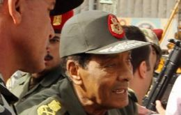 General Tantawi appointed chairman of the Higher Military Council