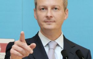 French Agriculture minister Bruno Le Maire: guardian angel of EU farmers