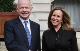 William Hague and Ms. Jimenez anticipate 'a trilateral ministerial meeting soon'