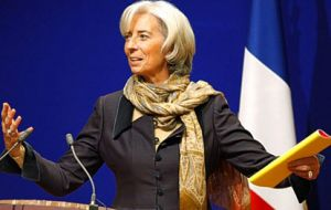 """Frank, tense negotiations"" admitted French Finance Minister Christine Lagarde"
