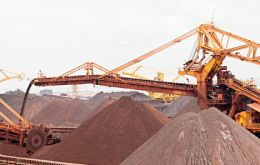 Vale shipped 81.9 million tons of iron ore during the fourth quarter