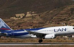 The group is boosting its Lan Peru operations hub with eight new aircraft