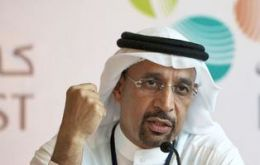 Saudi Aramco CEO Khalid al-Falih: 9 million bpd, and 3.5 million more if needed