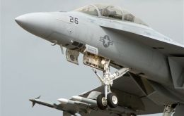 The Boeing Super Hornet F-18 a serious candidate for the Brazilian Air Force
