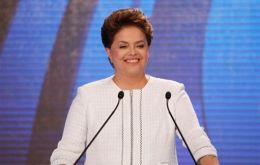 On launching the Month of the Woman the Brazilian president underlined the significance of having reached the highest post in the country