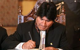 President Evo Morales take over policy resulted in a plunge in investments