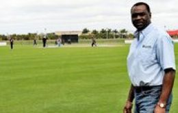 Wendell Coppin, the International Cricket Council Regional Development Officer for the Americas