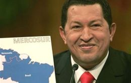 Venezuelan leader Hugo Chavez at the centre of the discussion