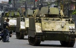 Of the 1.953 armoured vehicles and tanks only 1.079 are operational