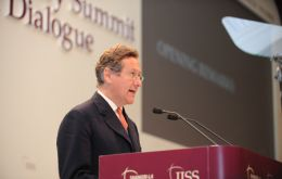 Dr John Chipman, Director-General and Chief Executive of IISS