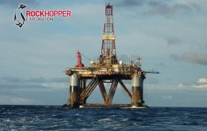 Rockhopper secures three additional well slots with the 'Ocean Guardian' drilling rig