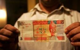 Most Cubans are paid in ordinary pesos equivalent to 4 US cents