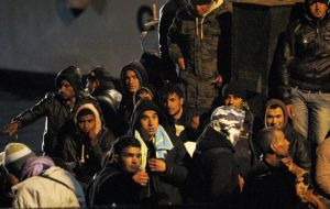 In spite of controls Libyan illegal immigrants have begun arriving in mainland Italy