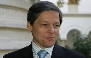Europe's agriculture commissioner Dacian Ciolos