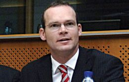 Agriculture minister Simon Coveney has a busy weekend in the continent