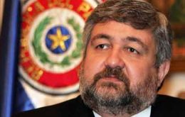 Minister Hector Lacognata, favours pragmatism but is fed up with negativism