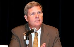 United States Agriculture Secretary Tom Vilsack made the announcement from Washington
