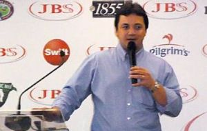 World's largest meat company JBS, CEO Wesley Mendonca Batista