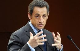 Sarkozy as rotating president of the group had proposed the meeting seven months ago