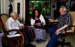 The former US president had a long chat with Fidel Castro
