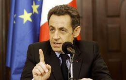 French leader Sarkozy said the Yuan should be included in the SDR currencies basket