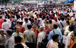 Mumbai on a busy day: millions and millions
